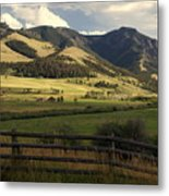 Tom Miner Vista Metal Print