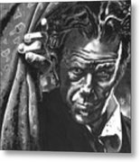 Tom Waits Metal Print by Ken Meyer jr