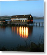 Tomales Launch Metal Print