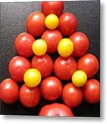 Tomatoe Tree Metal Print