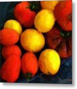Tomatoes Matisse Metal Print