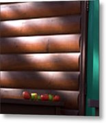 Tomatoes On Porch Metal Print