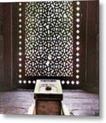 Tomb At The Humayun Temple Complex Metal Print