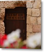 Tomb Of Jesus Metal Print