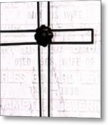 Tomb Of The Wife Metal Print