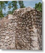 Tombs At Oxtankah Metal Print