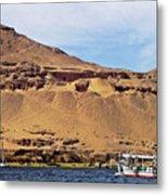 Tombs Of The Nobles Aswan Metal Print