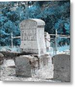 Tombstone Amiss Metal Print