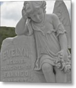 Tombstone Angel For An Angel Metal Print by Christine Till