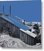 Tombstone Mine And Milling Company Unknown Date - 2013 Metal Print