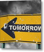 Tomorrow Metal Print