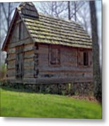 Tom's Country Church And School Metal Print