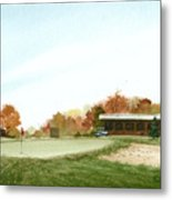 Tom's  Golf Course Metal Print