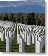 Too Many.. Veteran Cemetery, Santa Fe Metal Print