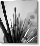 Tools Of The Trade Metal Print by Julia Bridget Hayes