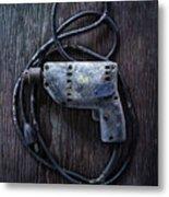 Tools On Wood 28 Metal Print