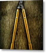 Tools On Wood 34 Metal Print