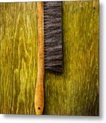 Tools On Wood 52 Metal Print