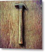 Tools On Wood 53 Metal Print