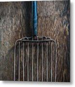 Tools On Wood 66 Metal Print