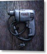 Tools On Wood 76 Metal Print