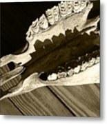 Tooth Decay Metal Print