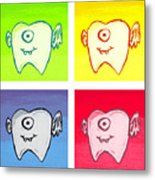 Tooth Fairies Metal Print by Jera Sky