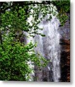 Top Half Of Toccoa Falls Metal Print