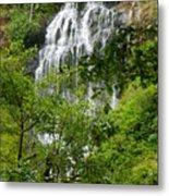 Top Of Munson Creek Falls Metal Print
