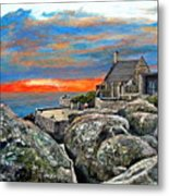 Top Of Table Mountain Metal Print