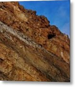 Top Of The Cliff Metal Print