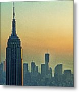 Top Of The Empire Metal Print