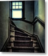 Top Of The Stairs Metal Print