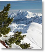 Top Of The Top - Lombardy / Italy Metal Print