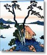 Top Quality Art - Mt,fuji36view-shinshu Suwako Metal Print