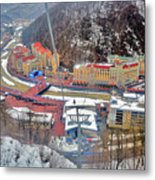 Top View. Krasnaya Polyana. Metal Print