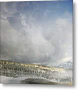 Topic Of Duality Winter-summer Metal Print