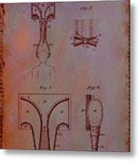 Topophone Patent Drawing 1e Metal Print