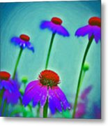 Toppers Metal Print