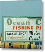 Topsail Island 1996 Ocean City Metal Print