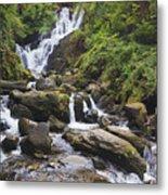 Torc Waterfall In Killarney National Metal Print