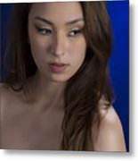 Toriwaits Nude Fine Art Print Photograph In Color 5072.02 Metal Print