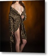 Toriwaits Nude Fine Art Print Photograph In Color 5078.02 Metal Print