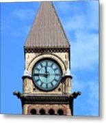Toronto Clock Tower Metal Print