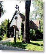 Toronto Island Chapel Metal Print