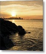 Toronto Lakeshore Vortex - Metal Print
