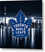 Toronto Maple Leafs Nhl Hockey Metal Print