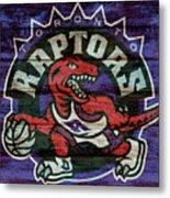 Toronto Raptors Barn Door Metal Print