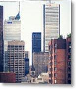 Toronto - Skyline Metal Print
