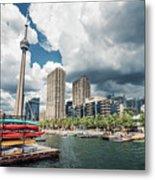 Toronto - Skyline / Harbourfront Metal Print